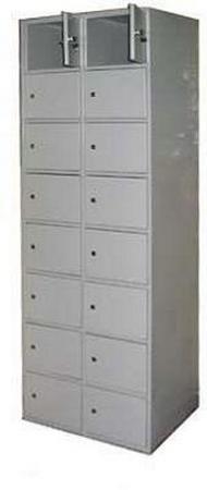 Шкаф на 16 ячеек с индивидуальными дверцами ШР 82