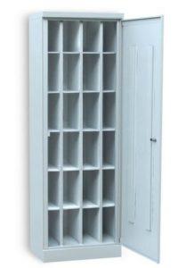 Шкаф на 24 отделения с общей дверцей
