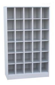 Шкаф на 30 ячеек открытого типа