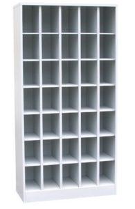 Шкаф на 35 ячеек открытого типа