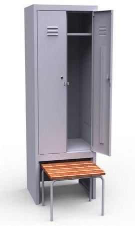 Шкаф с выдвижной скамьей ШР 22 600 ВСК