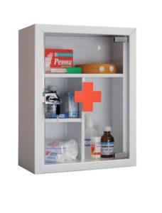 Аптечка со стеклянной дверцей
