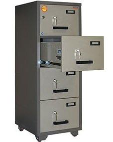 Шкаф картотечный Valberg KK-4K/E, огнестойкий