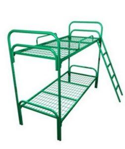 Кровать двухъярусная с лестницей и ограждением