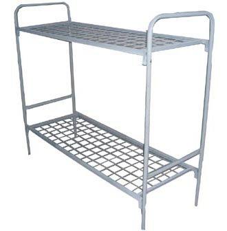 Кровать металлическая двухъярусная КМС-2
