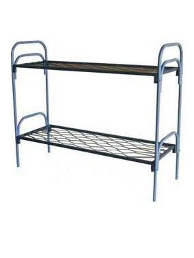 Кровать металлическая двухъярусная КМП-2