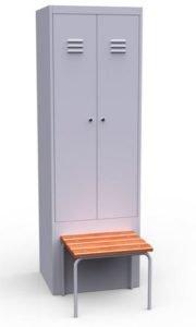 Шкаф со скамьей ШР 22 600 СК