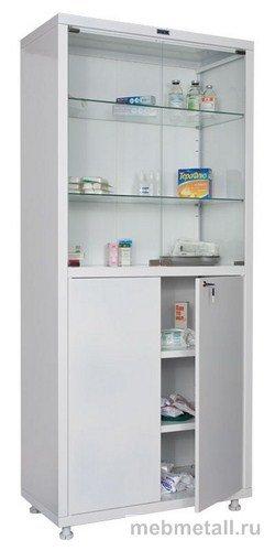Медицинский шкаф HILFE MD-2 1780/SG