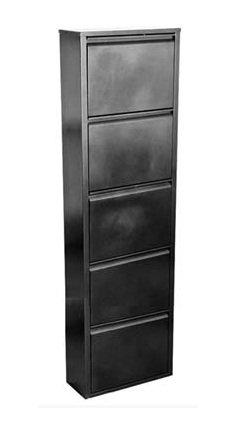 Шкаф для обуви ШО-5 серебряный антик