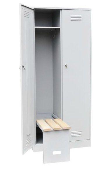 Шкаф с откидной скамьей