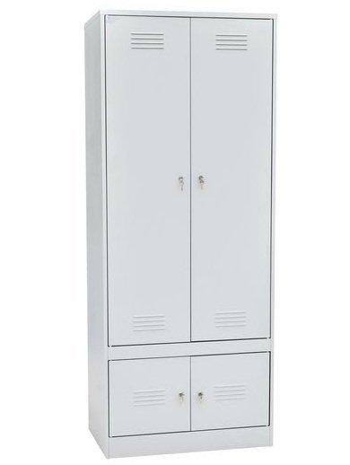 Шкаф для одежды с секцией для обуви