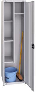 Шкаф хозяйственный ШХ500: купить в Москве по цене 8 300 руб | Интернет-магазин «Мебель Металлическая»