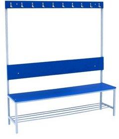 Скамейка гардеробная из ДСП СД-1500спв