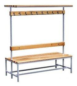 Скамейка гардеробная СВ-1500ДВП