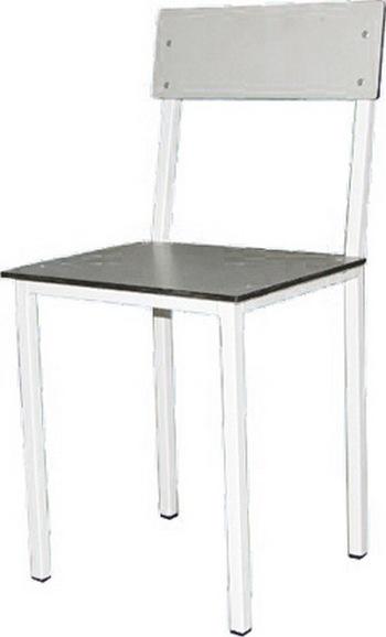 Стул с пластиковым сиденьем