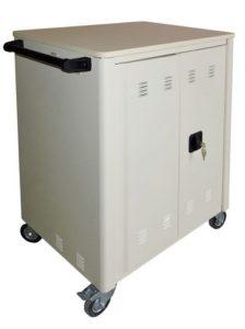 Шкаф-тележка для хранения и зарядки 40 планшетов