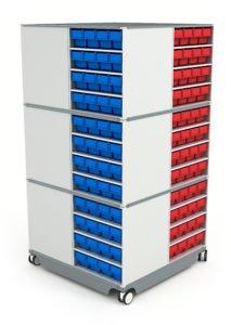 Кассетница КП-02: купить в Москве по цене 113 800 руб | Интернет-магазин «Мебель Металлическая»