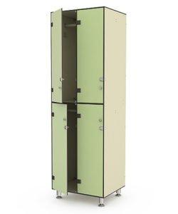 Шкаф 2-2: купить в Москве по цене 36 500 руб | Интернет-магазин «Мебель Металлическая»