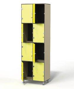 Шкаф для обуви 2-4: купить в Москве по цене 39 500 руб | Интернет-магазин «Мебель Металлическая»
