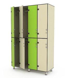 Шкаф 4-2: купить в Москве по цене 67 394 руб | Интернет-магазин «Мебель Металлическая»