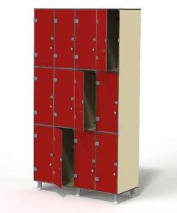 Шкаф 4-3: купить в Москве по цене 58 500 руб | Интернет-магазин «Мебель Металлическая»
