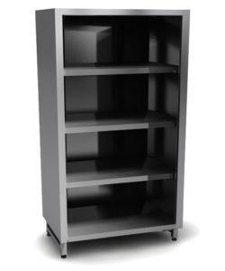 Шкаф из стали AISI 304 (без дверей): купить в Москве по цене 28 900 руб | Интернет-магазин «Мебель Металлическая»