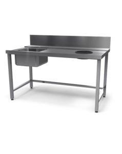 Стол для посудомоечных машин: купить в Москве по цене 11 600 руб   Интернет-магазин «Мебель Металлическая»