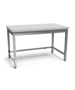 Стол со столешницей из полипропилена (AISI 304, обвязка): купить в Москве по цене 16 600 руб   Интернет-магазин «Мебель Металлическая»