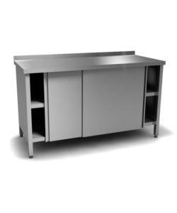 Стол производственный закрытый (двери-купе): купить в Москве по цене 31 800 руб | Интернет-магазин «Мебель Металлическая»