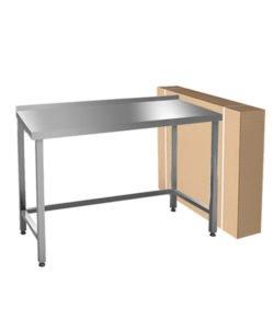 Стол разборный производственный (AISI 304, обвязка): купить в Москве по цене 12 200 руб | Интернет-магазин «Мебель Металлическая»
