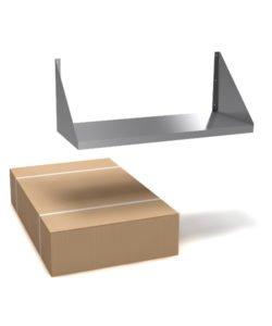 Полка настенная разборная (сплошная): купить в Москве по цене 1 800 руб | Интернет-магазин «Мебель Металлическая»