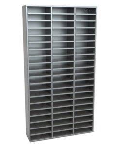 Шкаф абонентский АШ 60 (открытый): купить в Москве по цене 44 000 руб | Интернет-магазин «Мебель Металлическая»
