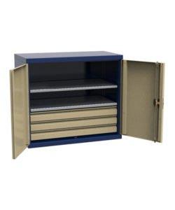 Шкаф навесной СШИ.Н-01.03.02: купить в Москве по цене 12 849 руб | Интернет-магазин «Мебель Металлическая»