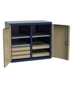 Шкаф навесной СШИ.Н-02.05.03: купить в Москве по цене 16 365 руб | Интернет-магазин «Мебель Металлическая»