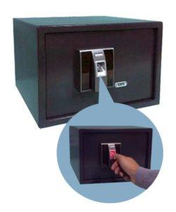 Сейф с биометрическим замком SFT-25EFD: купить в Москве по цене 20 999 руб | Интернет-магазин «Мебель Металлическая»