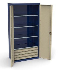 Шкаф инструментальный СШИ-01.04.04: купить в Москве по цене 39 000 руб | Интернет-магазин «Мебель Металлическая»