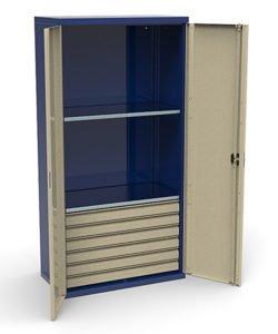 Шкаф инструментальный СШИ-01.06.02: купить в Москве по цене 40 000 руб | Интернет-магазин «Мебель Металлическая»