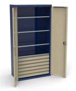 Шкаф инструментальный СШИ-01.06.04: купить в Москве по цене 42 000 руб | Интернет-магазин «Мебель Металлическая»