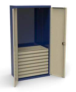 Шкаф инструментальный СШИ-01.08.00: купить в Москве по цене 40 000 руб | Интернет-магазин «Мебель Металлическая»