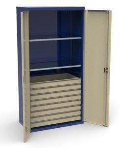 Шкаф инструментальный СШИ-01.08.02: купить в Москве по цене 44 000 руб | Интернет-магазин «Мебель Металлическая»