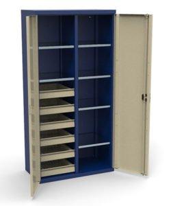 Шкаф инструментальный СШИ-02.06.06: купить в Москве по цене 42 000 руб | Интернет-магазин «Мебель Металлическая»