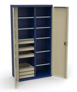 Шкаф инструментальный СШИ-02.06.08: купить в Москве по цене 44 000 руб | Интернет-магазин «Мебель Металлическая»