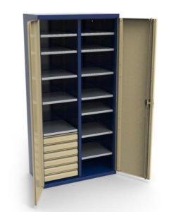 Шкаф инструментальный СШИ-02.06.12: купить в Москве по цене 48 000 руб | Интернет-магазин «Мебель Металлическая»