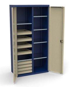 Шкаф инструментальный СШИ-02.08.06: купить в Москве по цене 46 000 руб | Интернет-магазин «Мебель Металлическая»