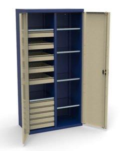 Шкаф инструментальный СШИ-02.10.06: купить в Москве по цене 50 000 руб | Интернет-магазин «Мебель Металлическая»