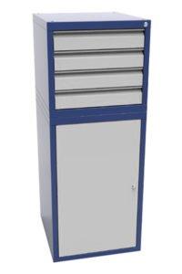 Стойка инструментальная CИ-ТД1.ТП4.00: купить в Москве по цене 22 000 руб   Интернет-магазин «Мебель Металлическая»