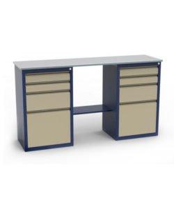 Стол-верстак ЛВ-2Т.04.04: купить в Москве по цене 295 000 руб | Интернет-магазин «Мебель Металлическая»