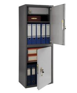 Шкаф бухгалтерский AIKO SL-125/2Т: купить в Москве по цене 14 500 руб   Интернет-магазин «Мебель Металлическая»