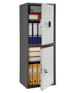 Шкаф бухгалтерский AIKO SL-125/2Т EL: купить в Москве по цене 13 900 руб | Интернет-магазин «Мебель Металлическая»