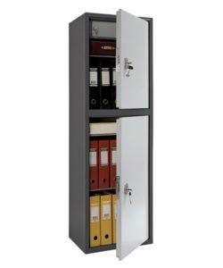 Шкаф бухгалтерский AIKO SL-150/2Т: купить в Москве по цене 17 000 руб | Интернет-магазин «Мебель Металлическая»